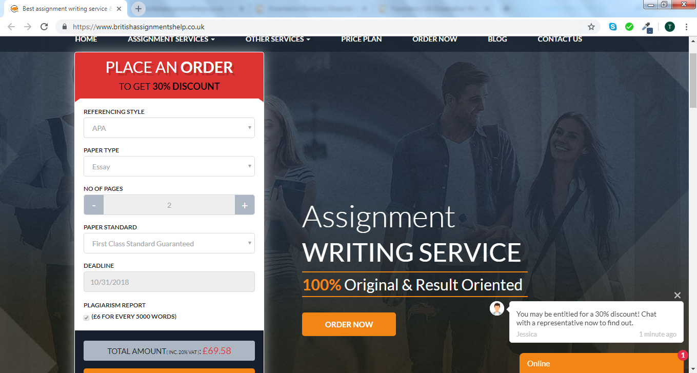 assignment writing service uk review