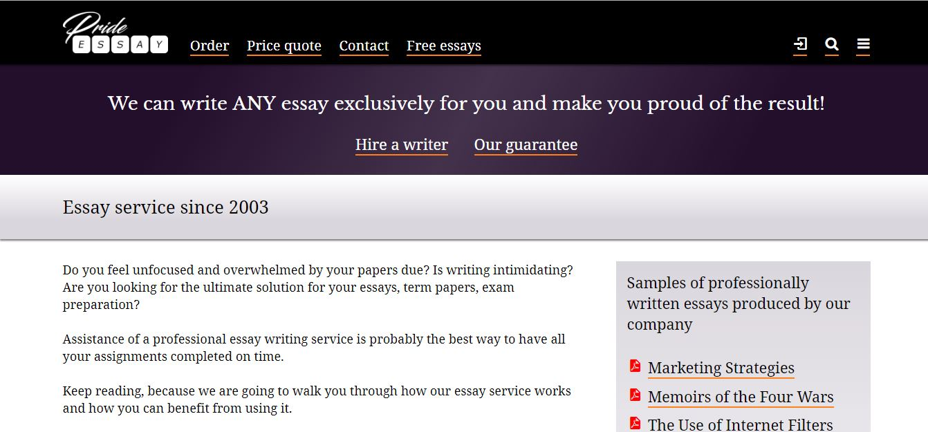 Essay writing service uk reviews of the walking
